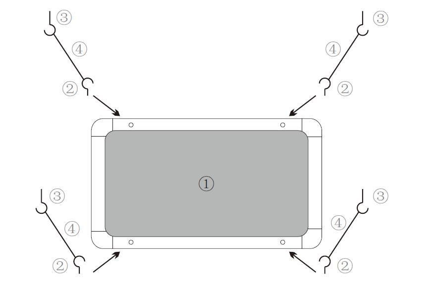 吊式光源箱安装图